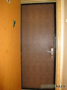 крокодил обивка дверей дермантином
