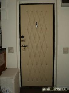 обивка дверей москва фотография