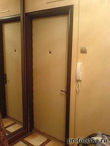обивка входной двери фотография