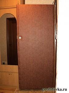 звукоизоляция входных дверей