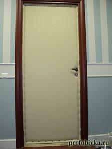 звукоизоляция деревянной двери