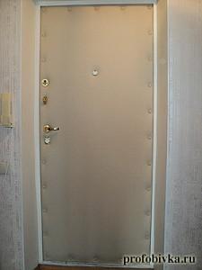 обивка и утепление дверей