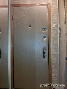 перетяжка входной двери