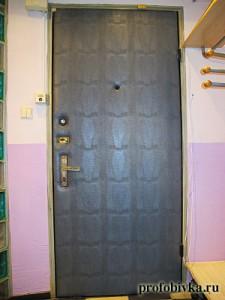 звукоизоляция дверей обивка варан
