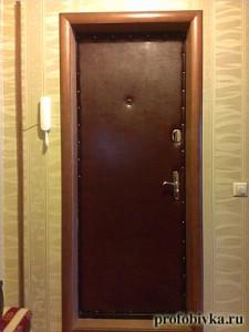 обивка двери москва фото