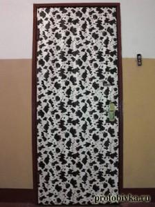 корова необычная обивка дверей москва