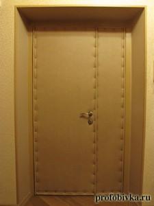 обивка двойной двери