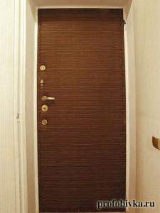 обивка входных дверей москва фото