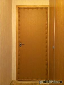 обивка квартирной двери москва