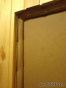 Утеплить двери