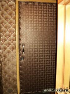 обивка входных дверей москва