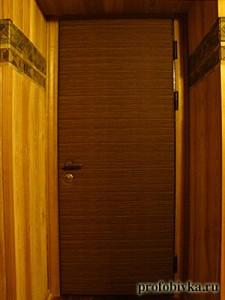 обитая дверь фото