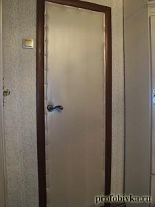 обивка металлических дверей кобра