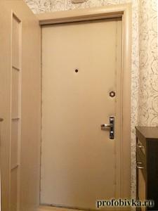 обивка двери фото