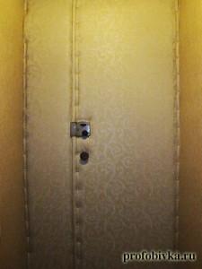 шумоизоляция деревянных дверей