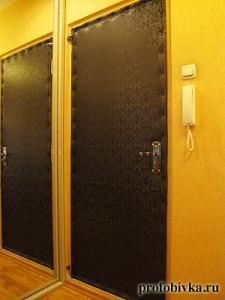 фото обивки дверей