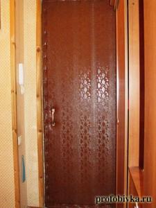 шумоизоляция входной двери в сталинском доме