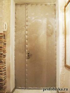 шумоизоляция входной двери цена