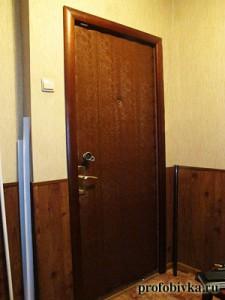 шумоизоляция входной двери фотография