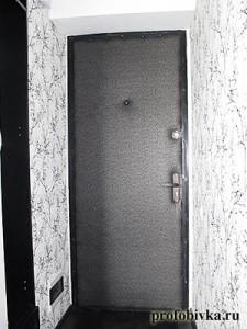 обивка дверей в Москве, квартира-студия