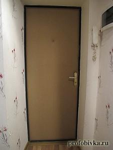 обшивка входной двери фото