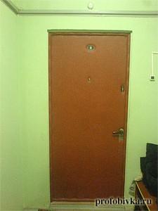 заменить обшивку на двери