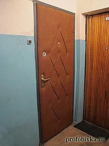 обшивка входной двери