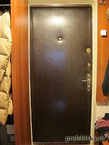 фотографии обитых дверей