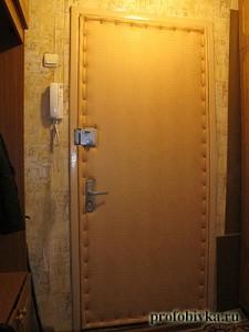 обивка дверей дермантином крокодил