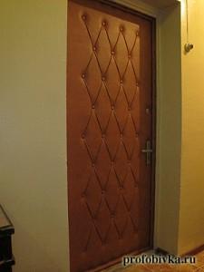 обивка дверей входных