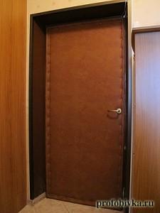 обшивка дверей входных