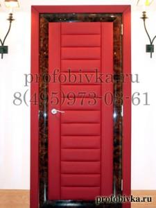 обивка дверей по индивидуальному заказу