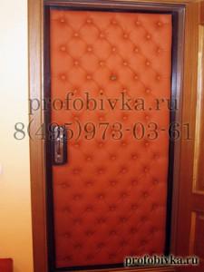 обивка дверей каретная стяжка