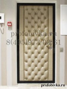элитная обивка двери каретная стяжка