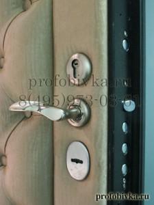 отделка двери по индивидуальному заказу