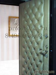 элитная отделка входной двери
