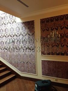 обивка стен тканью