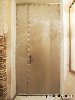 стоимость звукоизоляция входной двери