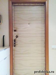 обивка дверей москва