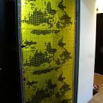 виброизоляция входной металлической двери