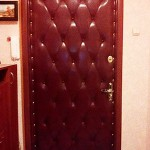обшивка двери с рисунком