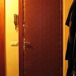 обивка деревянной двери винилискожей