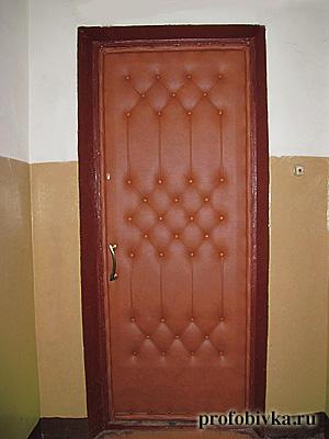 Обивка двери мастер класс