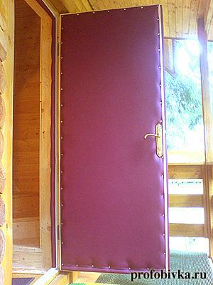 Чем утеплить входную деревянную дверь своими руками 145