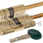 Цилиндровый механизм под вертушку (дл. шток) Mottura C31P513101TC5