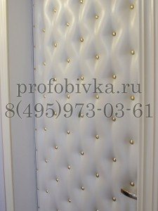 обивка металлических дверей экокожей