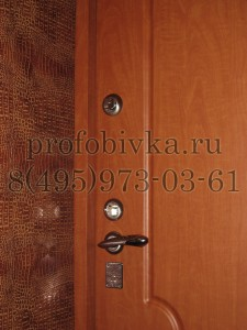 обивка и оформления дверных откосов
