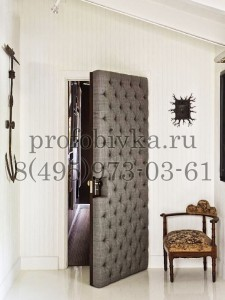 обить дверь каретной стяжкой
