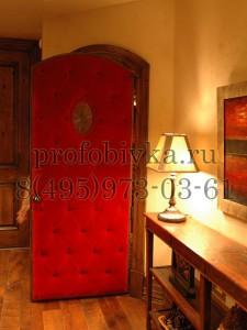 дверь в каретной стяжке