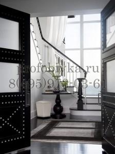 дизайнерское оформление двери